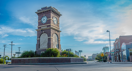 Historic Delano Neighborhood Clock Tower