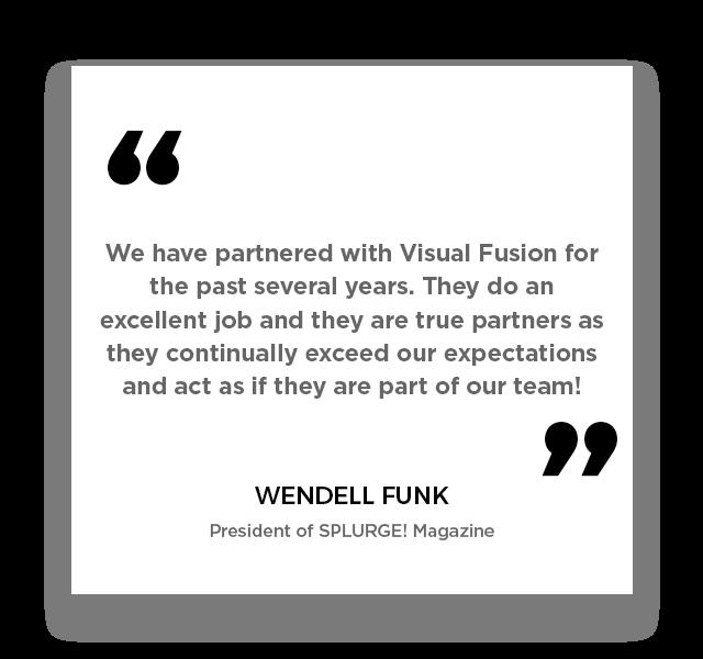 Wendell Funk SPLURGE! Magazine